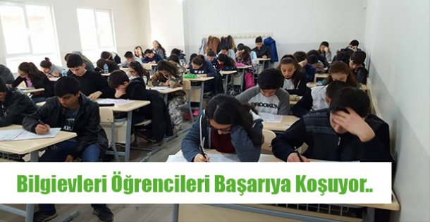 Bilgievleri Öğrencileri Başarıya Koşuyor..