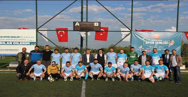 Birimlerarası Spor Şenliği futbol turnuvası ile başladı