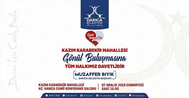 Bıyık Kazım Karabekir'de  Halk Meclisi Düzenleyecek