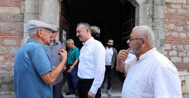 Büyükakın, Gebze'de vatandaşların taleplerini dinledi