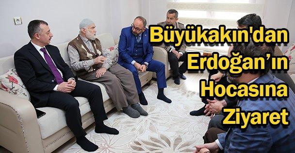 Büyükakın'dan Erdoğan'ın Hocasına Ziyaret