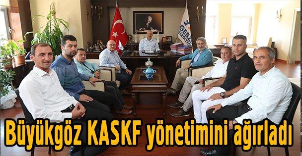 Büyükgöz KASKF yönetimini ağırladı