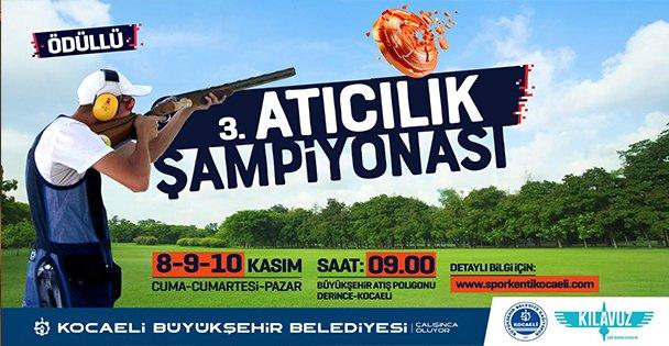 Büyükşehir'den 3. Atıcılık Trap Şampiyonası
