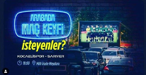 Büyükşehir'den 'Arabada Maç Keyfi'