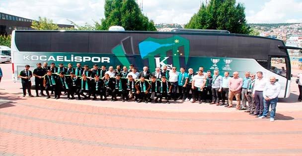 Büyükşehir'den Yeni Takım Otobüsü