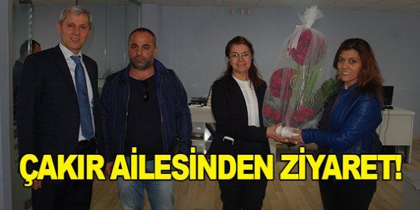Çakır ailesinden gazetemize ziyaret!