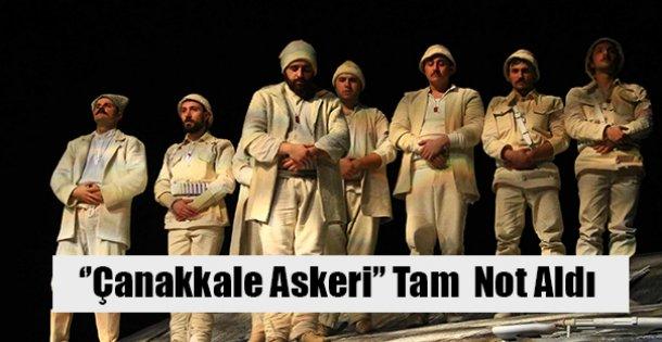 ''Çanakkale Askeri'' seyirciden tam not aldı