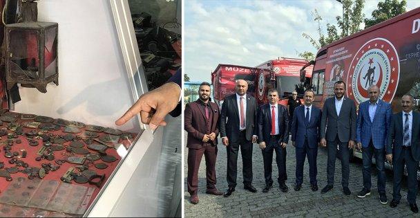 'Çanakkale Şehitleri' müze otobüsleri Türkiye turunda