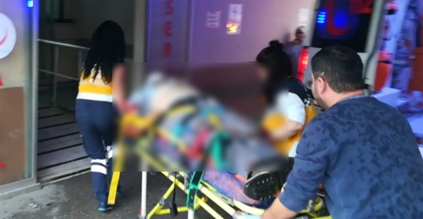 Çatı'dan düştüler:1 Ölü, 1 Yaralı