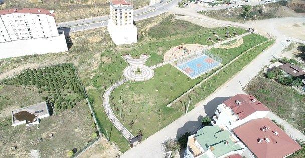 Çayırova Akse Mahallesi Parkı vatandaştan tam not aldı