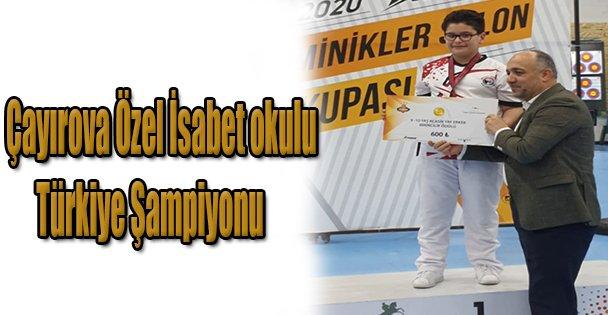 Çayırova   Özel İsabet okulu Türkiye Şampiyonu