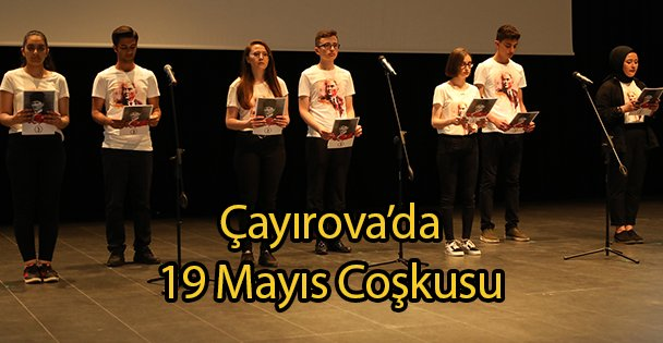 Çayırova'da 19 Mayıs Coşkusu