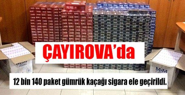 ÇAYIROVA'da OPERASYON !