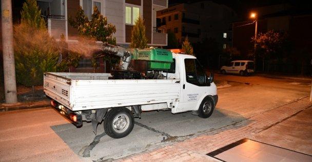 Çayırova'da sinekle mücadele