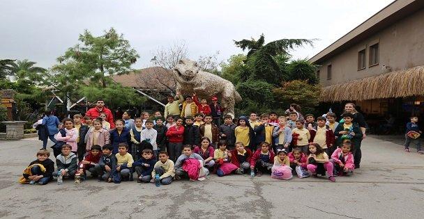 Çayırova'dan öğrencilerine hayvanat bahçesi gezisi