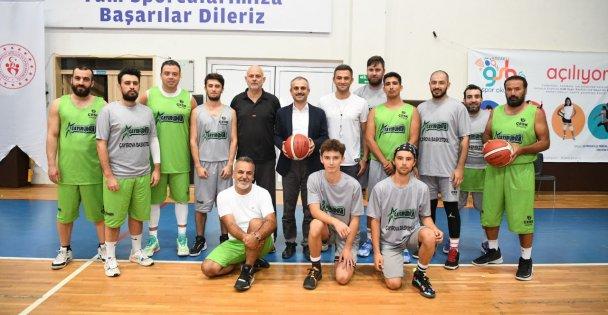 ÇESK Basketbol takımı kuruldu