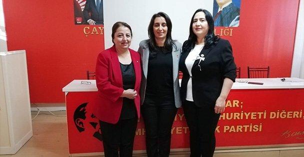 CHP Çayırova Kadın Kolları'nın yeni başkanı İlhan
