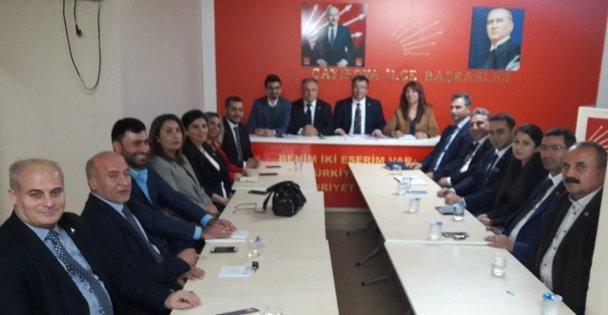 CHP Çayırova'da yeni yönetim görev dağılımı yapıldı