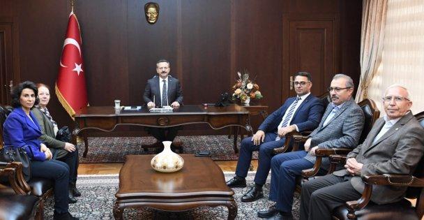 CHP Darıca'dan, Aksoy'a ziyaret!