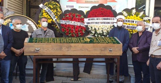 CHP Dilovası İlçe Başkanı Aydemir Son Yolculuğuna Uğurlandı