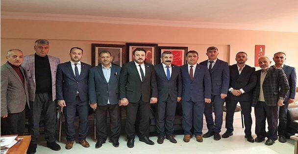 CHP Gebze İlçe Başkanı Gökhan Orhan'ı ziyaret etti.