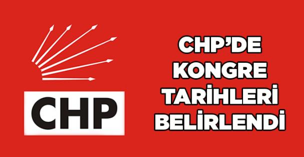CHP'de kongre tarihleri belirlendi