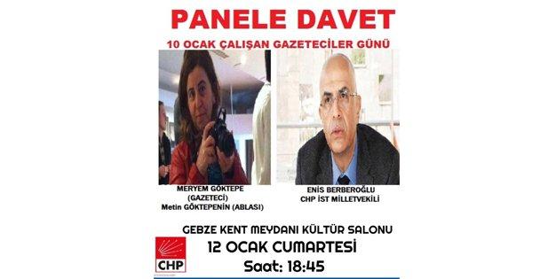 CHP'den Gazetecilere Özel Program