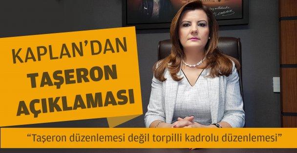 CHP'li Kaplan'dan Taşeron Açıklaması