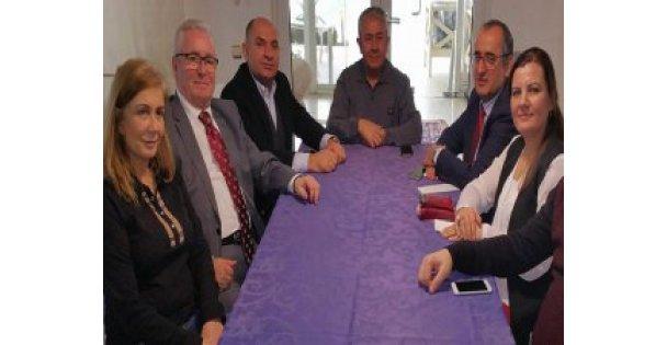 CHP'li vekillerden Sirmen'e geçmiş olsun ziyareti