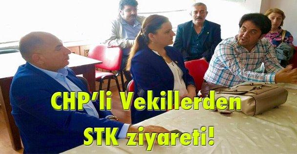 CHPli Vekillerden STK ziyareti!