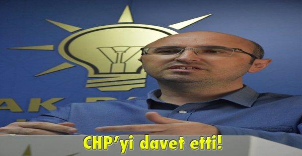CHPyi davet etti!