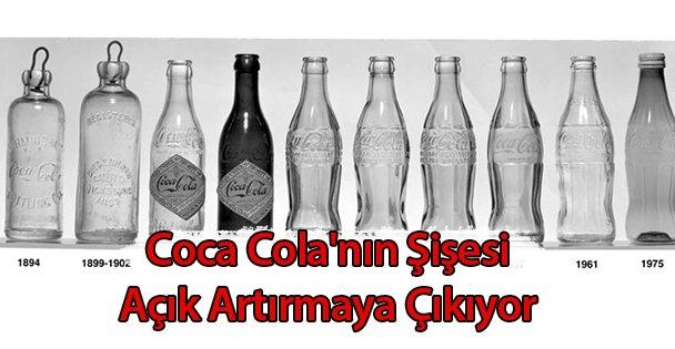 Coca Cola'nın Şişesi Açık Artırmaya Çıkıyor