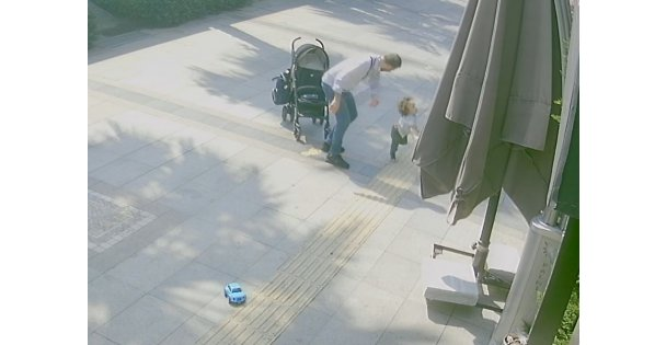Çocuğuna şidddet uygulayan baba gözaltında