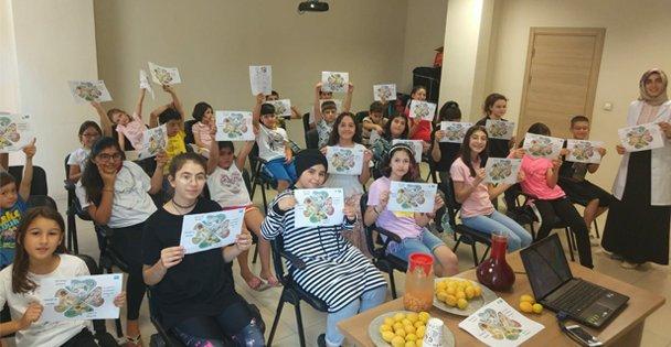 Çocuklar, Gebze'de sağlıklı beslenmenin püf noktalarını öğrendi