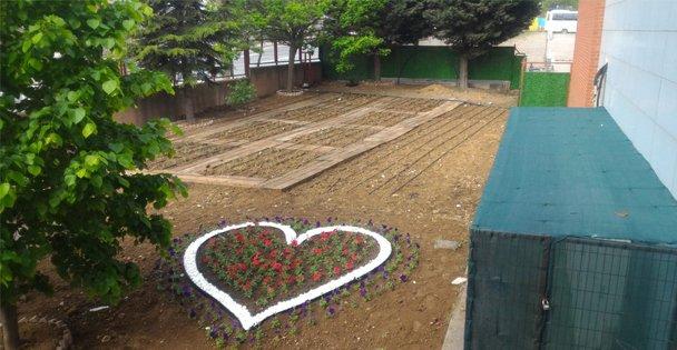 Çocukları toprak ile buluşturan proje