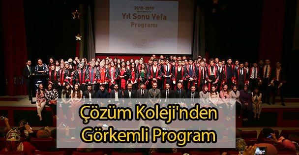 Çözüm Koleji'nden Görkemli Program