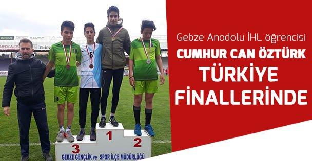 Cumhur Can Türkiye Finallerinde