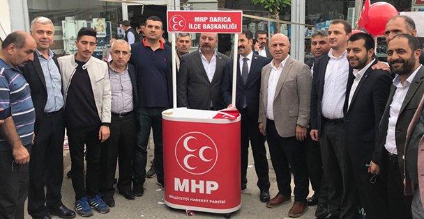 Cumhur İttifakı Darıca'da MHP Standında Buluştu