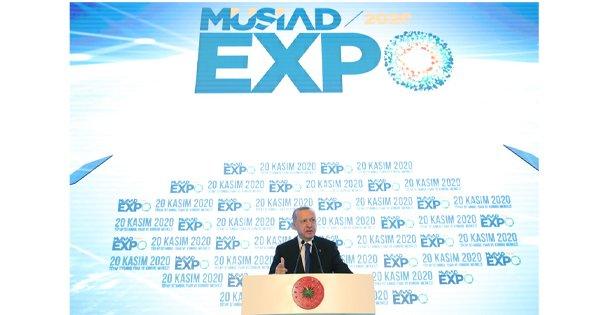 Cumhurbaşkanı Erdoğan 18. MÜSİAD EXPO Fuarına Katıldı