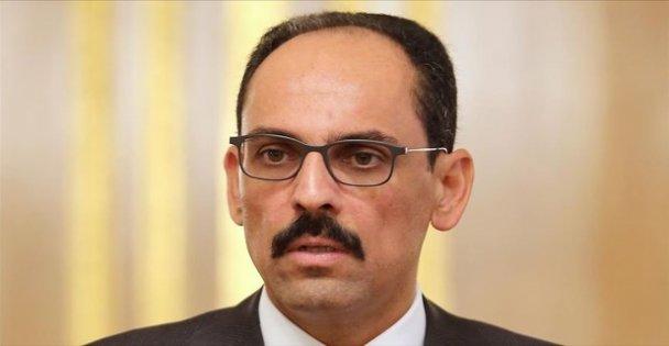 Cumhurbaşkanlığı Sözcüsü İbrahim Kalın'dan 'evde kal' mesajı