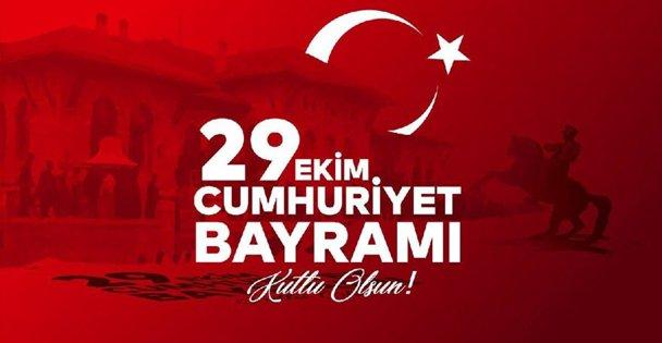 Cumhuriyet Bayramı Kutlu Olsun