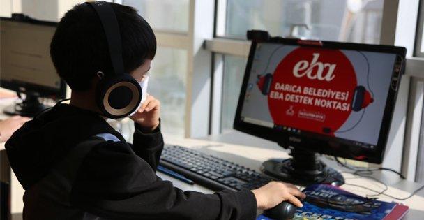 Darıca Belediyesi mahallelerde EBA Destek noktaları oluşturdu