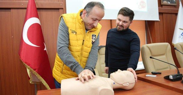 Darıca Belediyesi personeline ilkyardım eğitimi