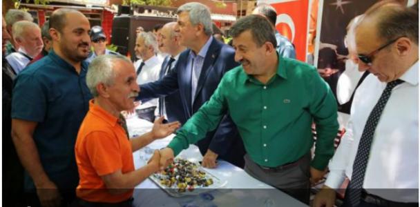 Darıca Çınar Altında bayramlaştı!