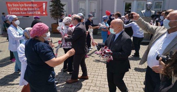 Darıca Farabi Hastanesinde Hemşireler Günü etkinliği