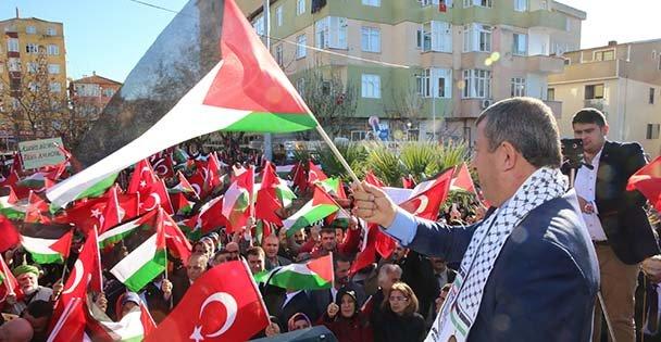 Darıca, Kudüs için Ayakta