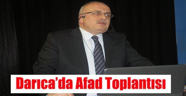 Darıca'da AFAD toplantısı