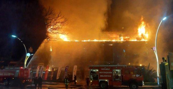 Darıca'da büyük  yangın