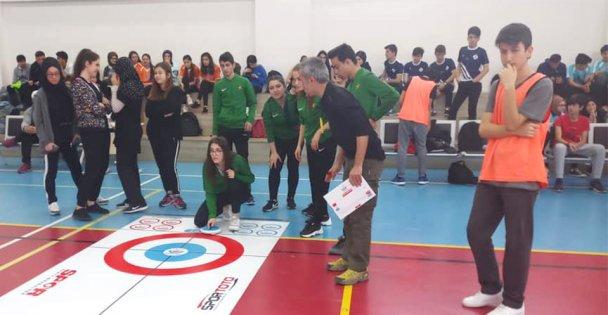 Darıca'da curling heyecanı