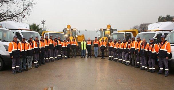 Darıca'da ekipler hazır